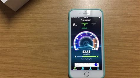 apple iphone   wifi  lteg speed test youtube