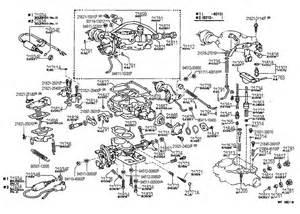 Toyota Parts Usa 1982 Toyota Corolla Carburetor