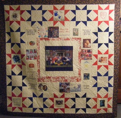 Memory Quilt Patterns by A Family Memory Quilt Mrs So So