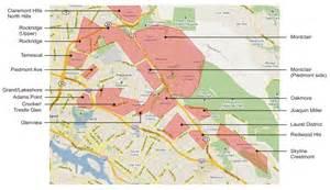 neighborhoods in oakland california