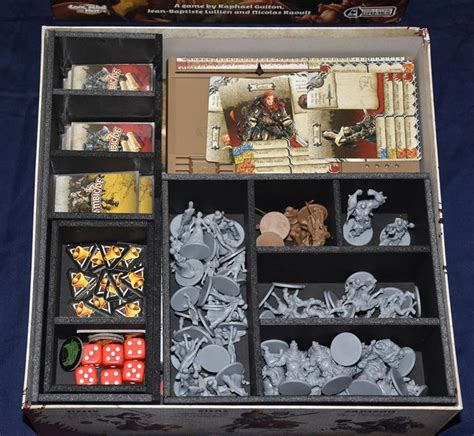 Zombicide Black Plague Board Original Boardgame zombicide black plague insert here tabletop and board gaming and black