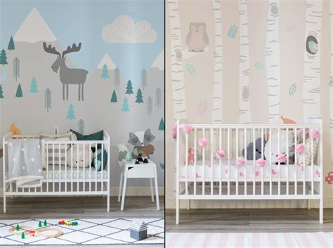 wallpaper for nursery nursery wallpaper by murals wallpaper 187 retail design blog