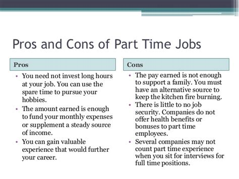 unemployment pros and cons best job for you full part time work from home or freelance