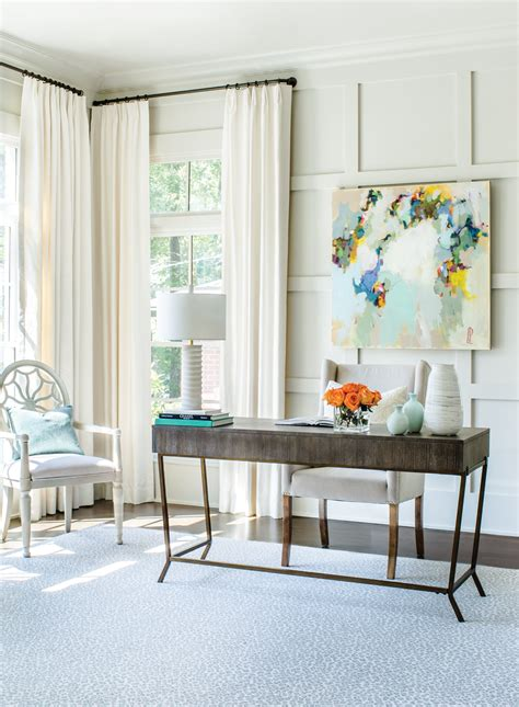 room envy room envy an open airy home office in buckhead atlanta magazine