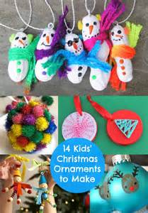 kids christmas crafts 14 fun ornaments to make ornament