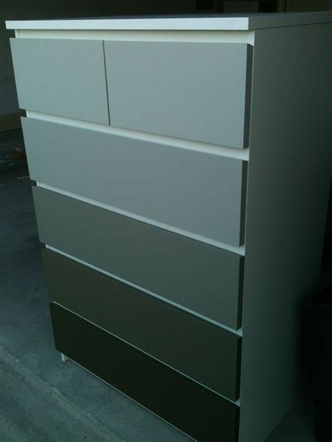 malm dresser painted white ikea malm painted in shades of nice gray love