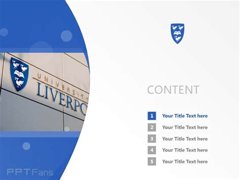 university of liverpool powerpoint template ppt powerpoint