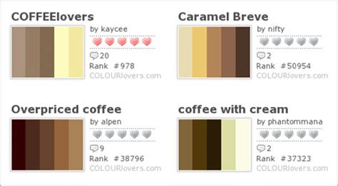 what color is coffee color inspiraton from coffee arizona coffee