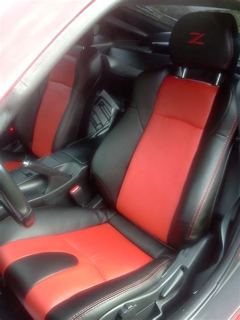2005 nissan 350z seat covers interior innovations synthetic leather seat covers nissan