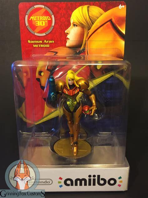 Amiibo Samus Aran Metroid Series more custom amiibos that show artists creativity news www gameinformer