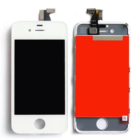 white gsm iphone 4s lcd display touch screen digitizer
