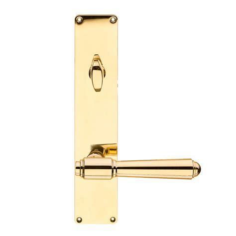 Door Handle Exterior Back Plate Brass Assa Thumb Turn Brass Door Handles Exterior