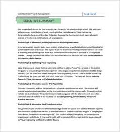 construction proposal template 10 free sample example