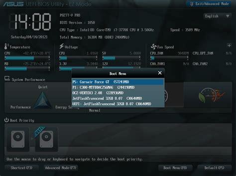 Laptop Asus Boot Menu pc n 227 o detecta meu hd externo
