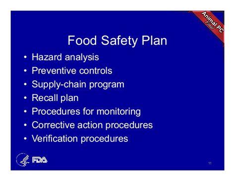 fsma final rule  preventative controls  animal foods