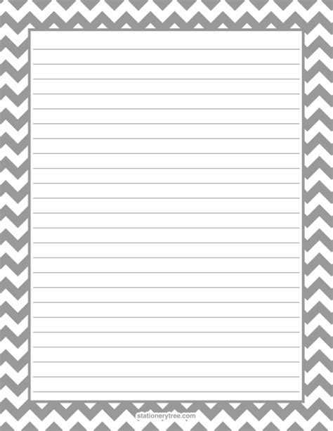printable black and white stationery printable lined stationery black and white www pixshark
