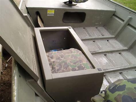 jon boat seat storage jon boat storage boxes view topic for sale jon