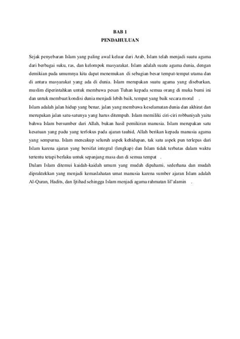 membuat kata pengantar makalah agama islam makalah agama islam newhairstylesformen2014 com
