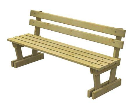 panchine di legno panchina in legno modello marta