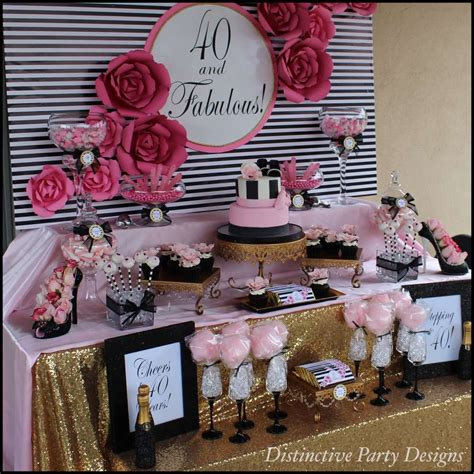 birthday themes 40 year old woman fashion birthday party ideas photo 5 of 16 catch my party