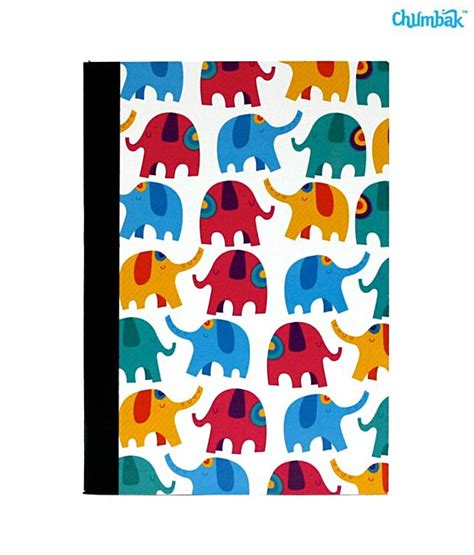indian pattern notebook chumbak elephant patterns notebook pack of 2 buy online