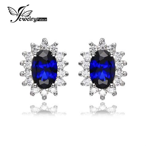 diana s blue stone earrings aliexpress com buy kate princess diana william wedding 2