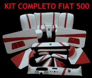 tappezzeria fiat 500 lounge interni sportivi interni 500