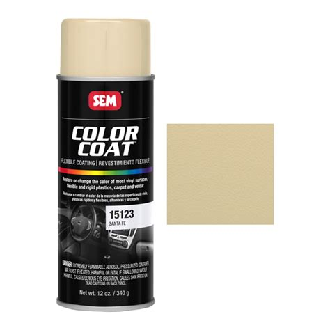 sem color coat sem 15123 sante fe color coat aerosol 12 oz sem color
