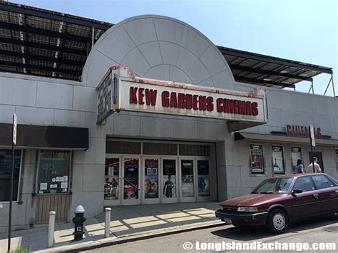 Kew Gardens Cinema Showtimes by Kew Gardens Island Exchange