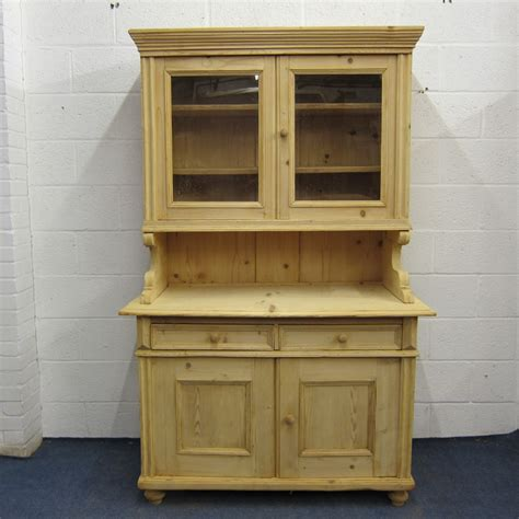 Pine Dressers Uk by Large Partly Glazed Antique Pine Dresser 324711