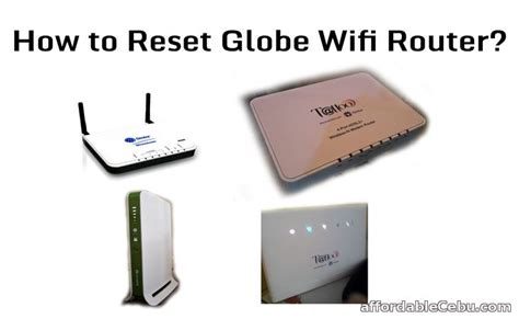 reset router online how to reset globe wifi router computers tricks tips