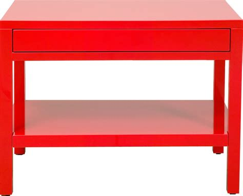 20 80 Red Lacquer End Table Contemporary Side Tables