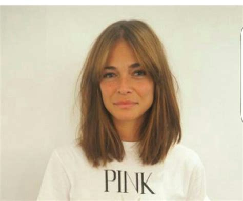 grow out lob my ideal haircut shoulder length with a grown out fringe