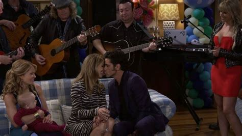 full house forever wedding version romantic moment of the week jesse and becky