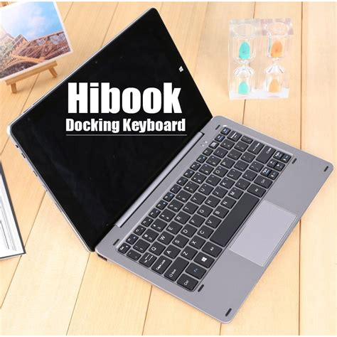 Eksternal Keyboard Magnetic For Chuwi Hibook Silver eksternal keyboard magnetic for chuwi hibook
