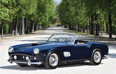 rare ferrari super rare 1961 ferrari 250 gt swb california spider could