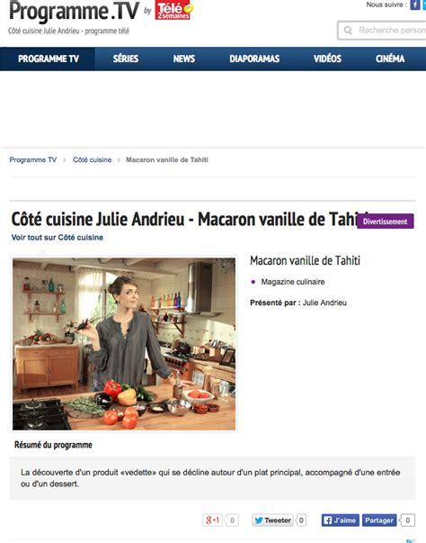 tahiti vanille cote cuisine julie andrieu hugues pouget