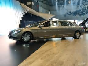 Mercedes S600 Pullman Mercedes Maybach S600 Pullman Spotted In Geneva Ahead Of Debut