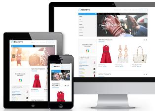 template toko online responsif template blog toko online shop responsive terbaru contoh