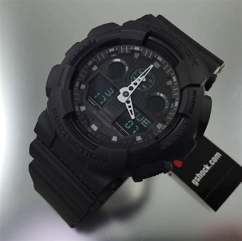best g shock military watch casio g shock analog digital black military watch ga100mb 1a