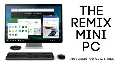 Remix Mini Android Pc Komputer Android 46021 remix mini pc a complete desktop android pc smaller than a rock allwinner h64 chip