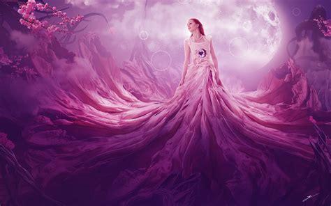 wallpaper 4k pink pink fantasy 4k wallpapers hd wallpapers id 21733