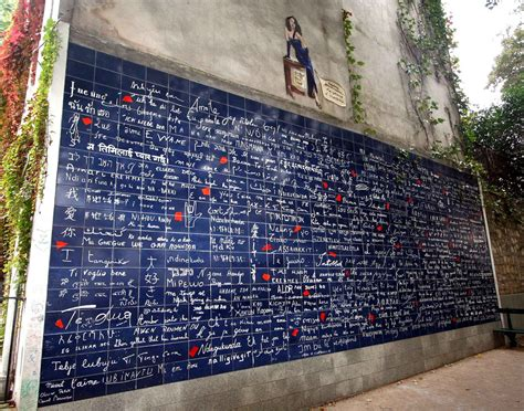 0008100594 when in french love wall of love paris france wall of love or love mural