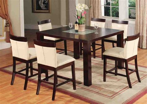 bar height kitchen table and chairs decor ideasdecor ideas