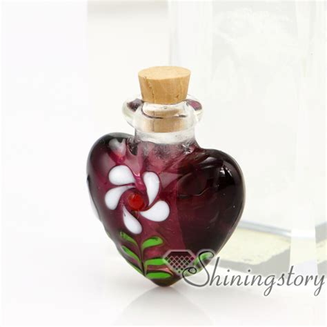 perfume bottle handmade murano glassglass vial
