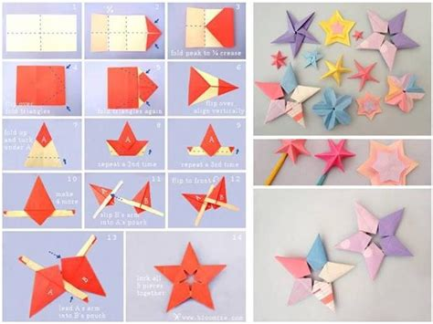 Origami Decorations Step By Step - diy origami paper tutorial step by step step by