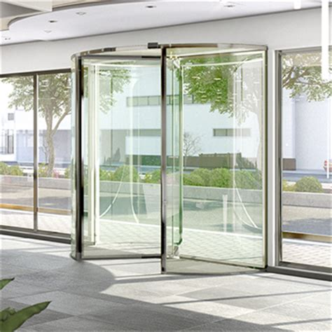 Glass Revolving Door Glass 3 Wing Revolving Door 1 8 To 3 0 M Besam Emea Free Bim Object For Archicad Revit
