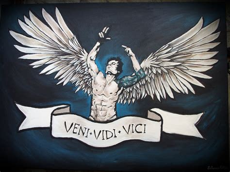 veni vidi vici by ssilverartist on deviantart