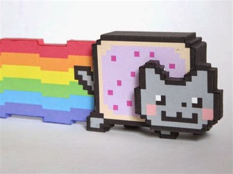 Papercraft For Sale - nyan cat papercraft