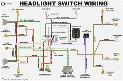 1953 chevy headlight switch wiring diagram wiring